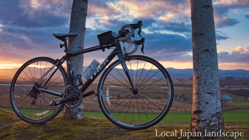輝く丘で(北海道サイクリング)