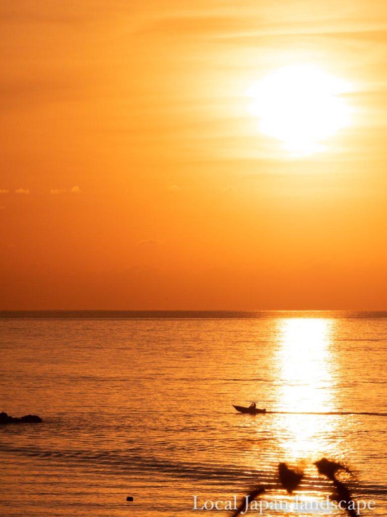 宿毛の夕陽(300mm)