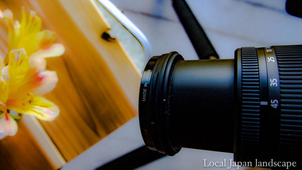 G VARIO 14-45mm/F3.5-5.6 ASPH/MEGA O.I.Sで接写