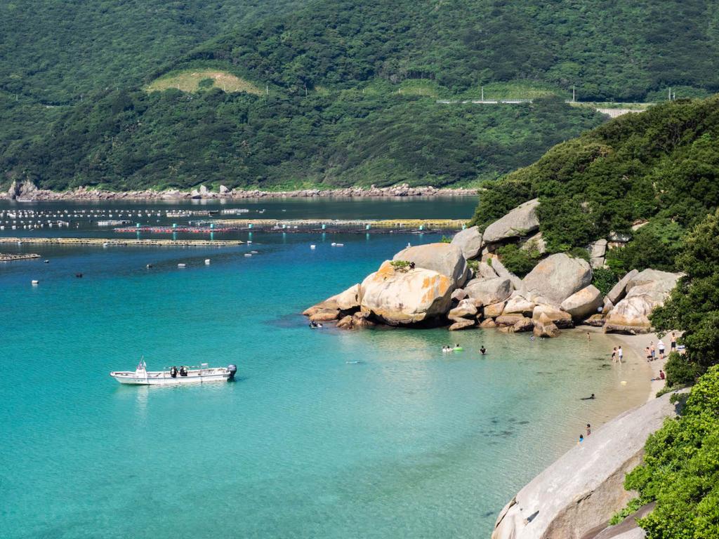 柏島の海岸(高知県大月町)