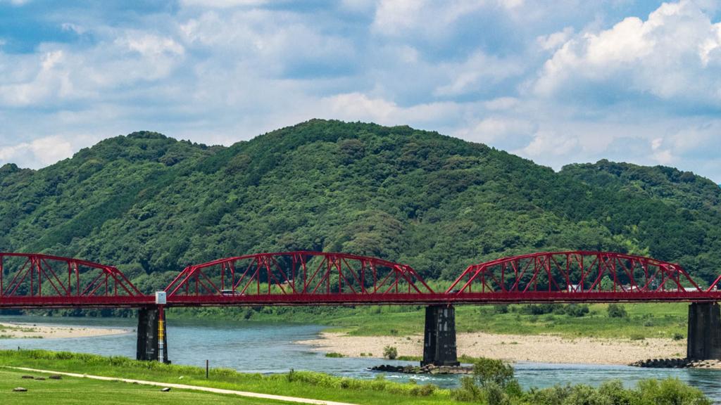 赤鉄橋(四万十川橋)