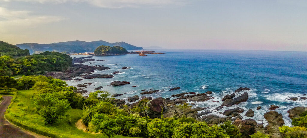 パノラマ合成(鹿島浦)