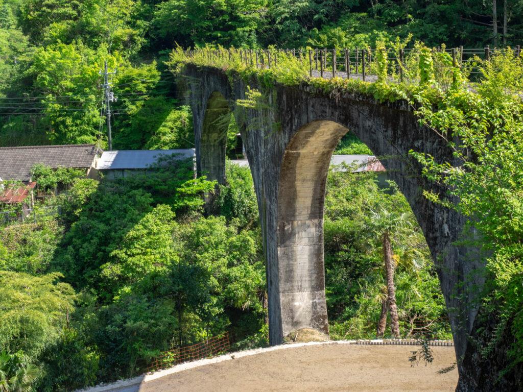 下津井めがね橋(四万十町・下津井渓谷)