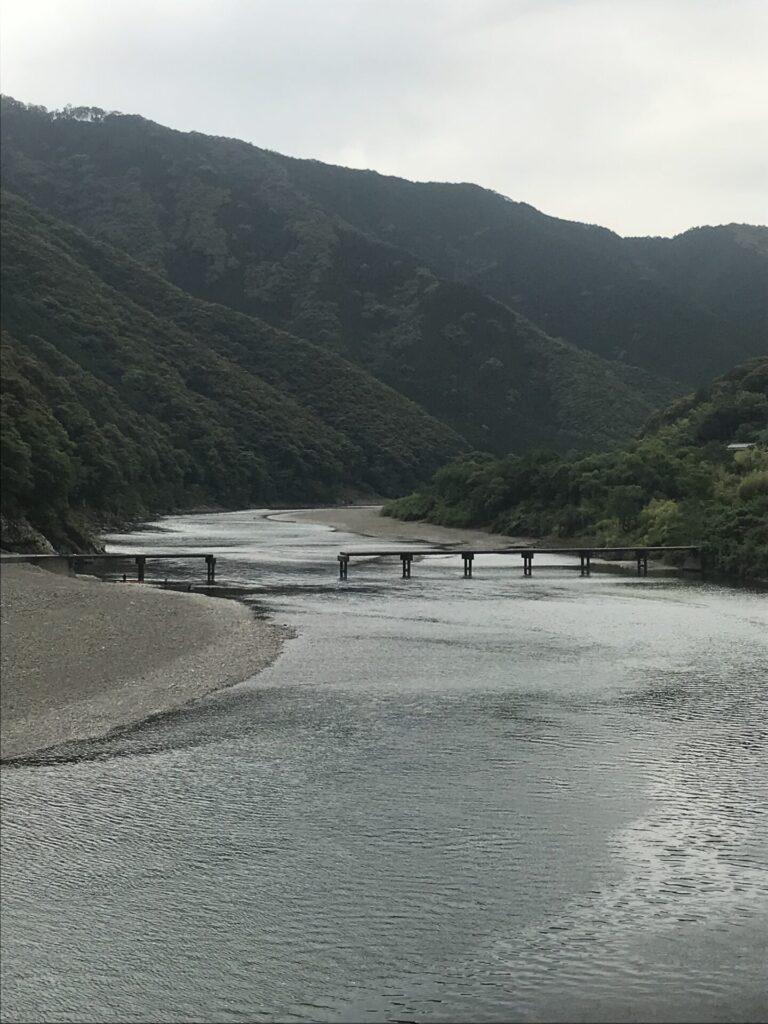 岩間沈下橋(四万十市西土佐)